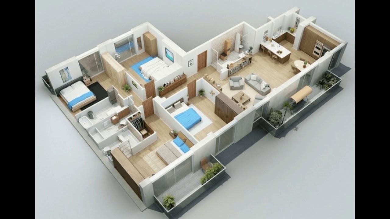 17 Desain Rumah Minimalis Modern 3 Kamar Tidur Paling Bagus Youtube
