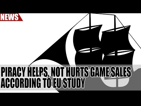 Piracy Helps, Not Hurts Game Sales According to EU Study