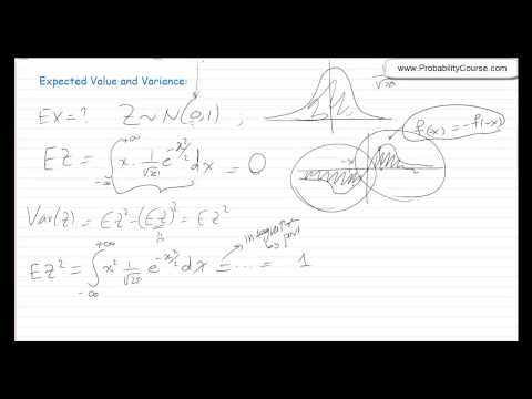 33-Normal (Gaussian) Distribution
