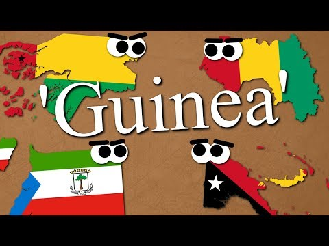 Why SO MANY Countries Are Named 'Guinea'