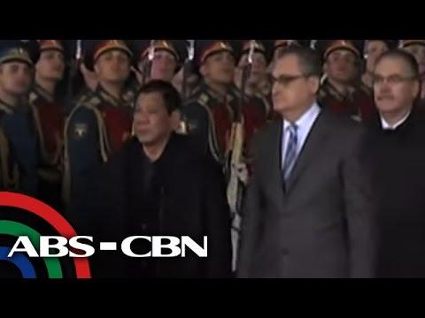 Pres. Duterte, nasa Russia na para sa 4-day official visit
