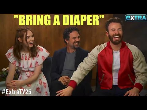 AVENGERS ENDGAME CAST: FUNNIEST MOMENTS [PART 1/4]