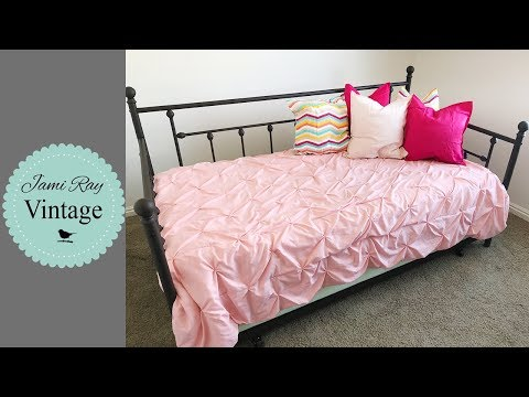 🔴 Bedroom Makeover   Daybed Assembly