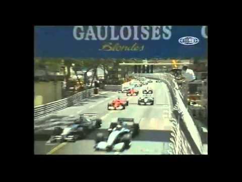 F1 Monaco 2002 Start