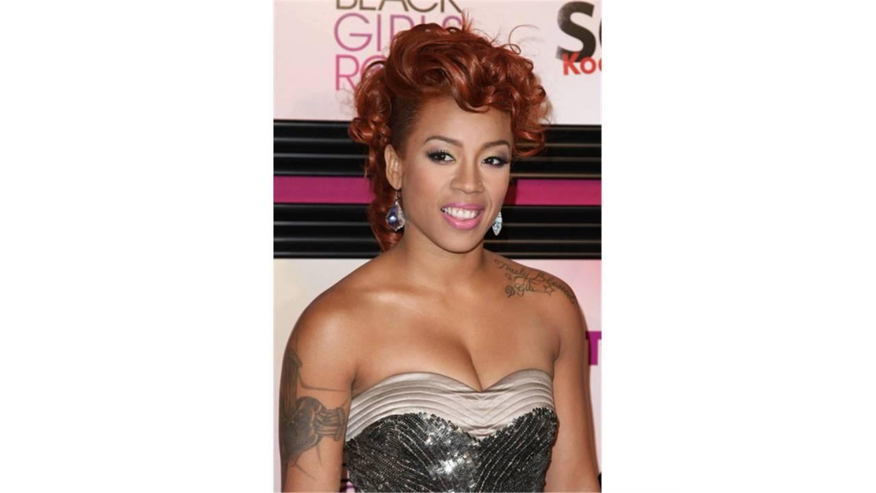 Keyshia Cole Hair Colors Styles