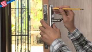 Ferretotal - ¿Cómo instalar una Cerradura de Embutir con Cilindro?