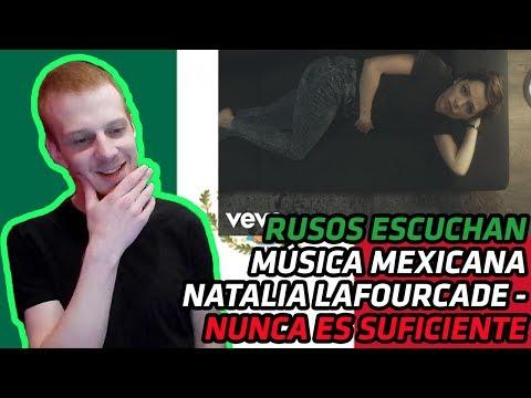 RUSSIANS REACT TO MEXICAN MUSIC | Natalia Lafourcade - Nunca Es Suficiente | REACTION