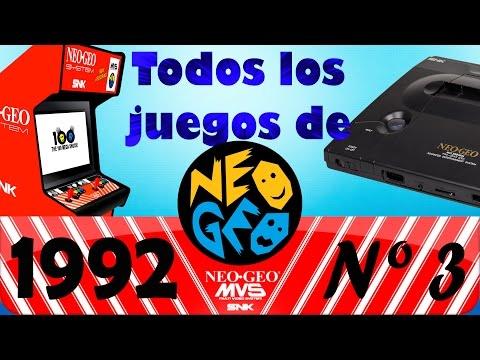 Análisis de Todos los juegos de Neo Geo - Nº 3 - 1992 - (Comentado en castellano)
