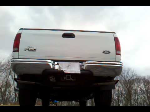 1999 F150 5 4 Super 44 Dual Exhaust Youtube