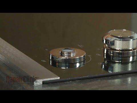 Control Knob Bezel – Kitchenaid Electric Downdraft Cooktop Repair