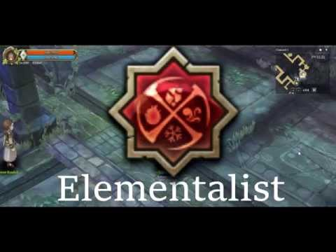 Tree of Savior iCbt2 - Elementalist 3 Skills