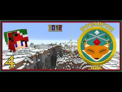 Dovahfox New Year UHC | Sassy POV # 4 | Half-Heart Challenge! 💜 | Minecraft 1.12.2
