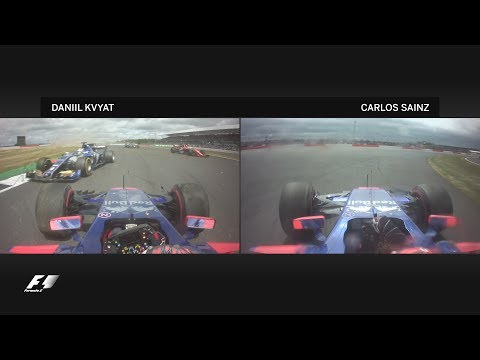 2017 British Grand Prix | Best Onboards