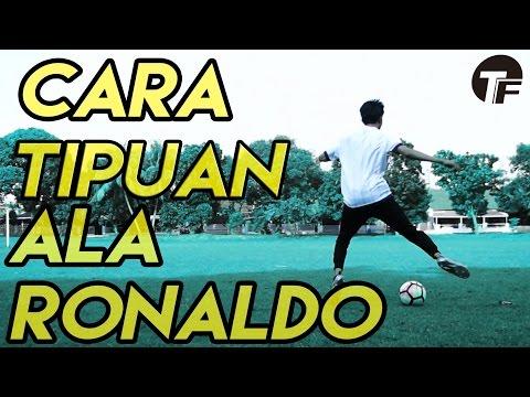 MUDAH !! Cara Menggocek Lawan Seperti Ronaldo | Ronaldo Chop TUTORIAL