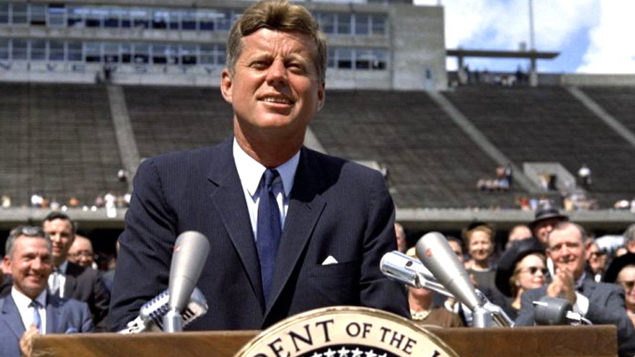 john f kennedys rice stadium moon speech analysis essay Historical sketch president john f kennedy visited rice university campus on september 12, 1962, and delivered a speech in the stadium on the nation's space effort.