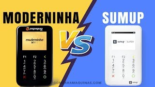 MODERNINHA WIFI PagSeguro ou SUMUP SUPER - Qual MELHOR Maquininha de Cartões? - Compare