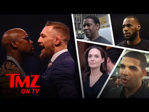 The Celeb Guest List For Mayweather VS McGregor Keeps Growing! | TMZ TV