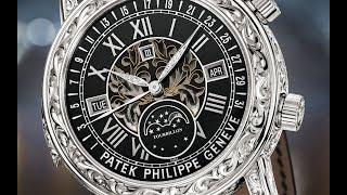 Start exploring the double-face Ref. 6002 Sky Moon Tourbillon wrist...