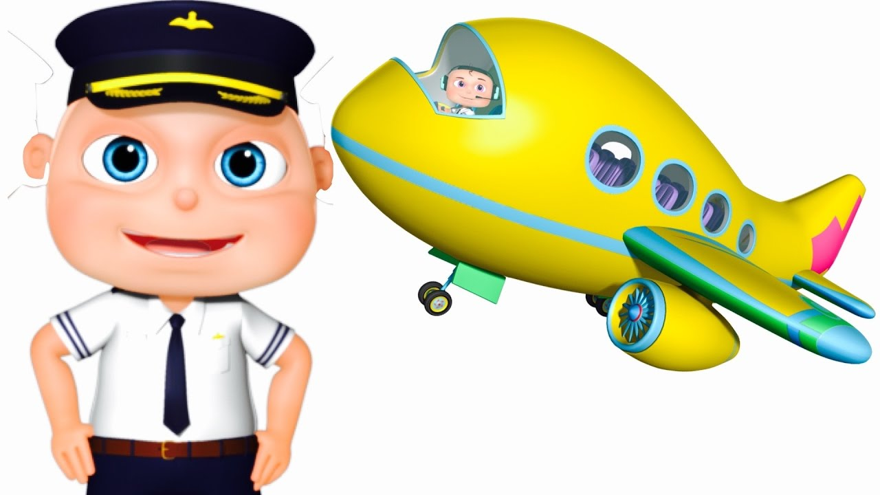 0878fa55f Five Little Babies Flying Airplane | Zool Babies Fun Songs | Five Little  Babies Collection - YouTube