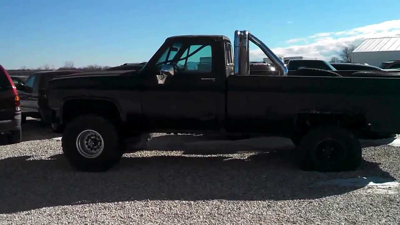 medium resolution of 1981 chevy k20 first look