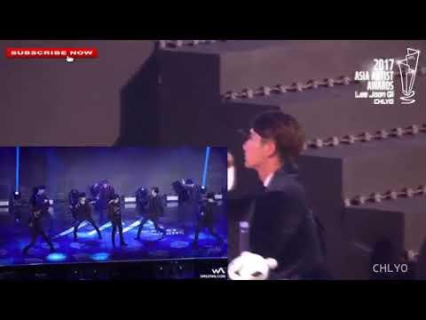 "( LEE JUN KI ) REACTION TO "" EXO "" THE EVE + KOKOBOP In [ AAA ]"