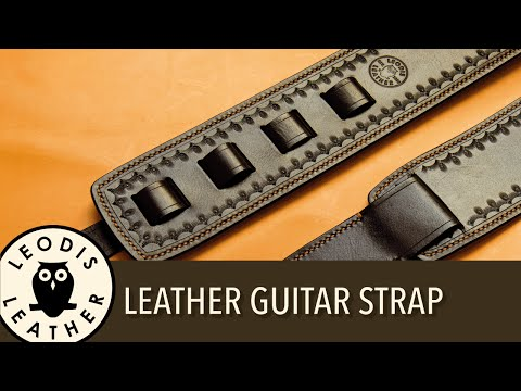 Making a Leather Guitar Strap (1 Hour)