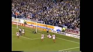 WEDNESDAY 2-1 SHEFFIELD UNITED, LEAGUE CUP 3RD ROUND, 1/11/2000