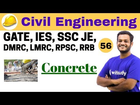 3:00 PM - Civil Engineering 2018 | Civil Engineering by Nikhil Sir | Concrete