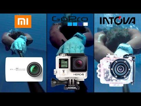 ТЕСТ камер: XIAOMI 4k / GoPro 4 / Intova HD2