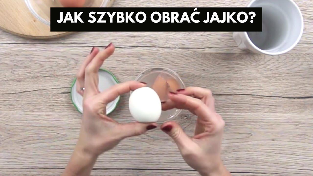 Jak obrać jajko w 10 sekund