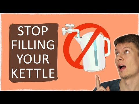 You've Been Filling Your Kettle Wrong 🚫🚰☕ // Auto Fill Kettle – Kitchen Life Hack