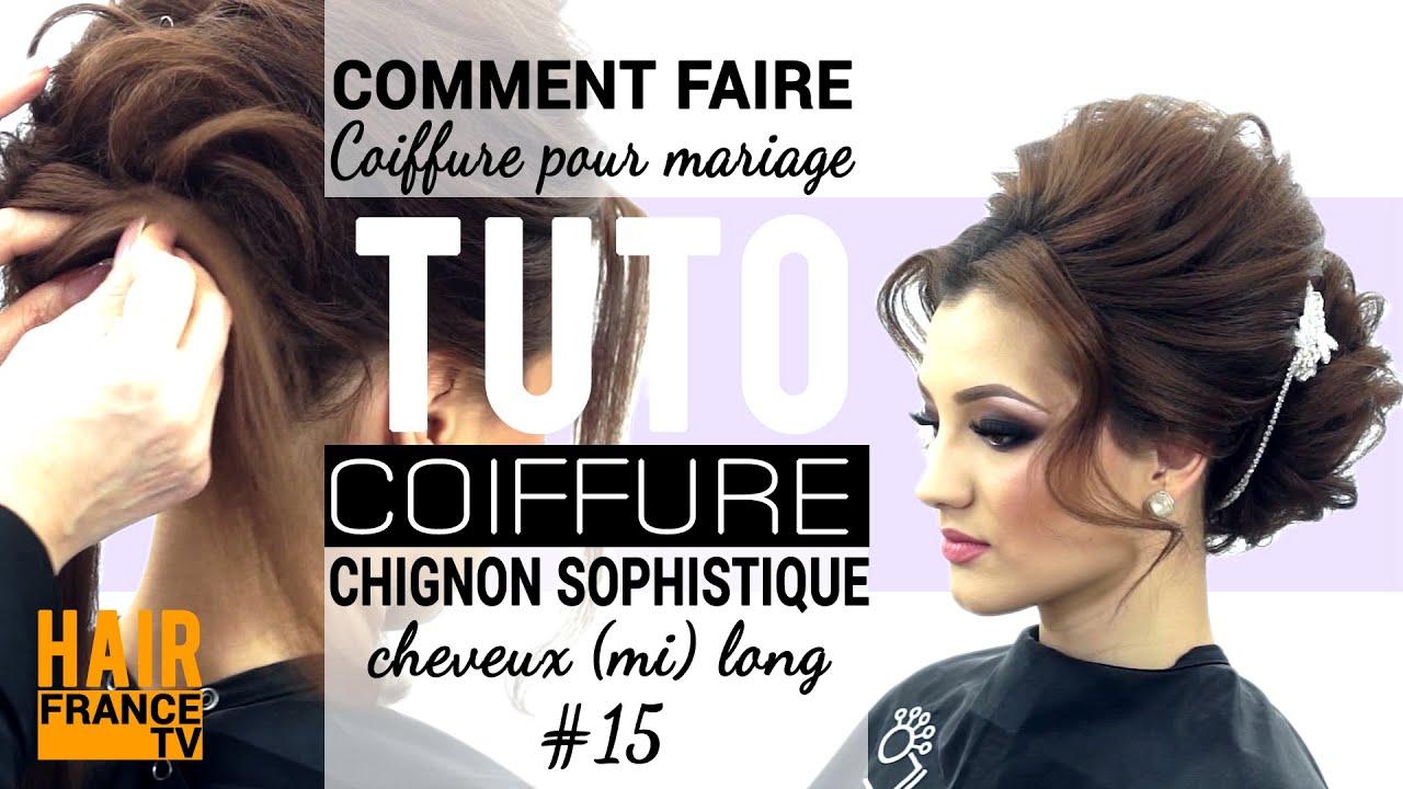 Tuto coiffure pour soiree mariage victoria skimbator hair france tv youtube - Coiffure pour soiree ...