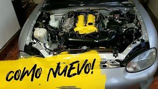CÓMO DEJAR EL MOTOR DE TÚ CARRO CÓMO NUEVO!!