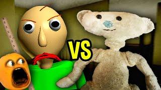 BALDI vs BEAR!!! (Annoying Orange Roblox)