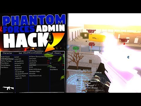 PHANTOM FORCES – (ADMIN HACK, INSTANT KILL, FLY, ESP, CREDIT HACK) ROBLOX HACK/EXPLOIT