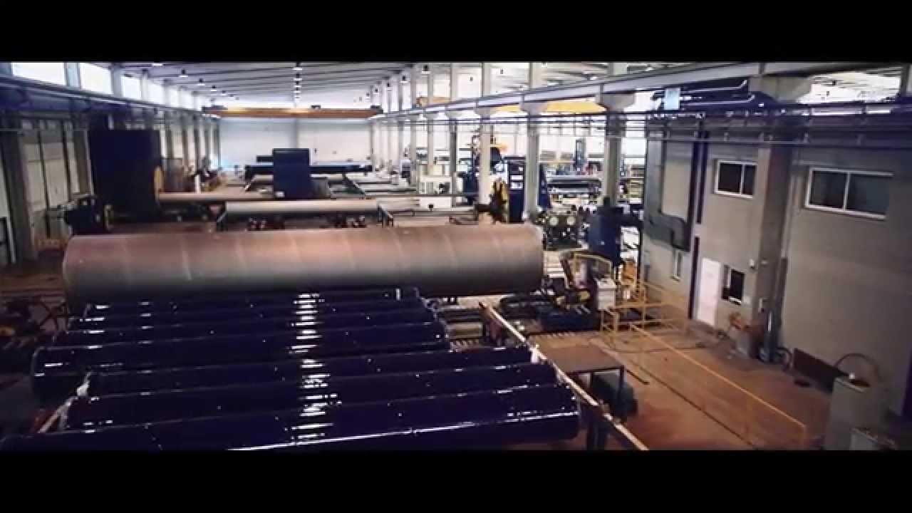 Noksel espaÑa spiral welded steel pipe manufacturing