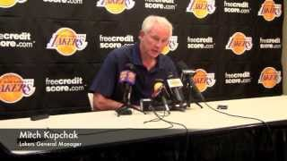 Lakers GM Mitch Kupchak Talks About Jordan Farmar