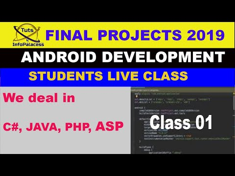 VU Final Projects Android Development First Class Step By Step Tuts From Very Basic