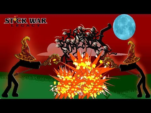 Stick War: Legacy SKINS | LAVA Magikill Tournament Mode | GamePlay (Part 63) 2018 FHD