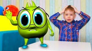 Рома и Хелпик в школе Игра в школу изучают цифры и цвета Kids School Для детей kids children