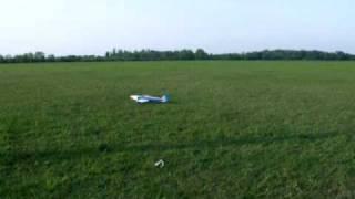 Pierwszy lot Katany PL z artexu
