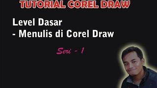 Tutorial Mudah COREL DRAW LEVEL 1