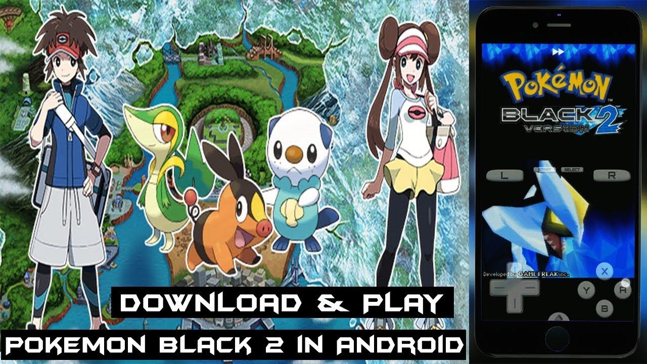pokemon black 2 game free download for pc
