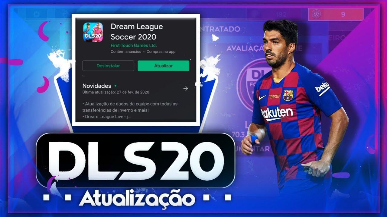 Atualização Do Dream League Soccer 2020 - Vários detalhes adicionados!! Incrível!!