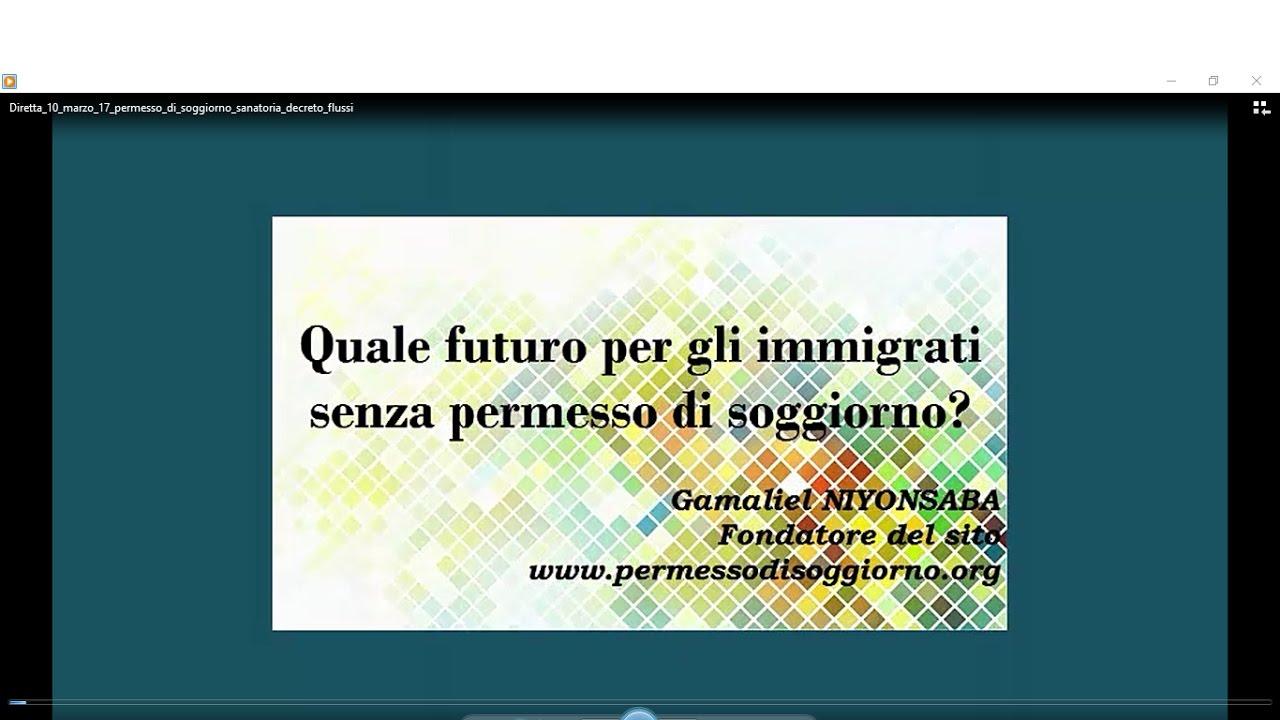 Quale futuro per gli immigrati senza permesso di soggiorno ...
