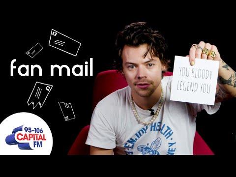 Harry Styles Answers Fan Questions | Fan Mail | Capital