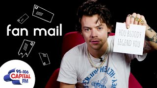 Harry Styles Answers Fan Questions | Fan Mail | Capital