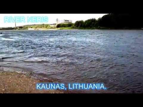 Kaunas, River Neris and Nemunas
