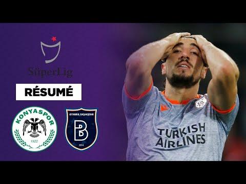 Résumé : Basaksehir tombe de très haut contre Konyaspor !