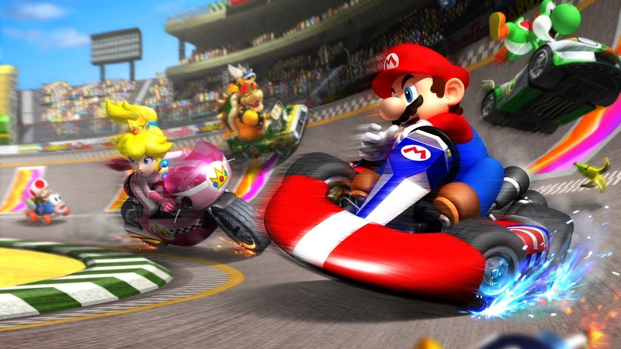 mario kart 8 deluxe 200cc gameplay online youtube
